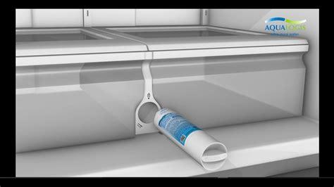 replace refrigerator water filter da ab haf cin   samsung french door