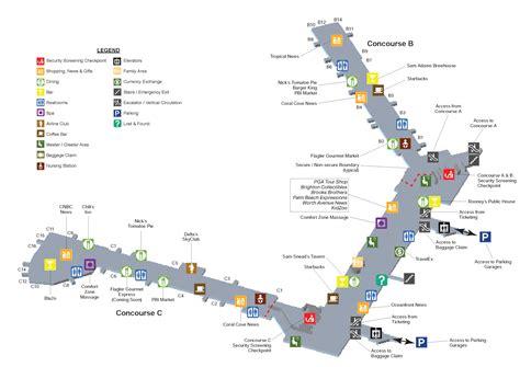 1 2 air impact terminal maps palm international airport