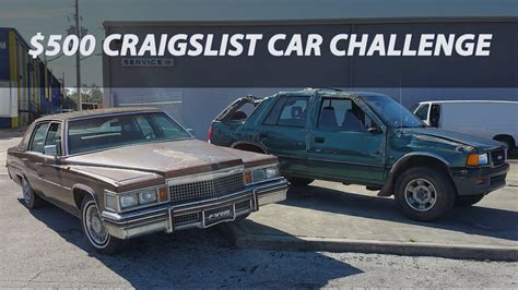 Craigslist Cars by 500 Craigslist Car Challenge Ep1