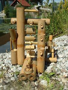Jeux D Eau Jardin : jeu d 39 eau en bambou ~ Melissatoandfro.com Idées de Décoration