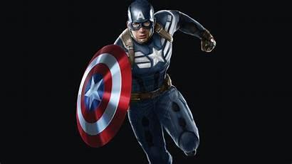 Captain Marvel America Superhero Comics Background 4k
