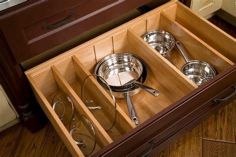 Deep Drawer Divider Kit  Traditional  Kitchen  Seattle