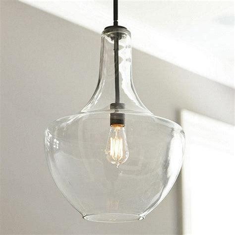 glass pendant lights for kitchen island sawyer 1 light pendant ballard designs