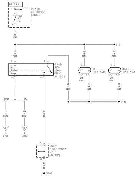 looking for correct wiring diagram for non sport to sport headlight conversion dodge cummins