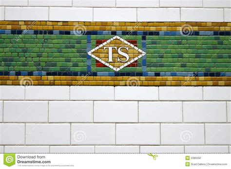 new york subway tile stock photo image of york visit