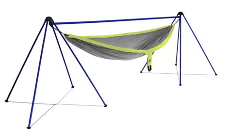 hammock cing gear eno nomad hammock stand gear review for a day