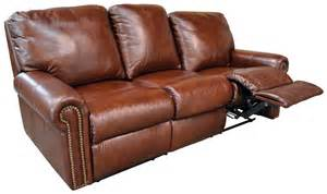 recliner sofa fairmont reclining sofa by omnia leather