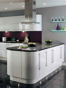 The 25 best purple kitchen walls ideas on pinterest for Kitchen colors with white cabinets with abstract wall art for sale