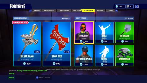 fortnite item shop august   todays  daily store