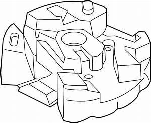 Lincoln Mkz Trunk Floor Storage Box  2013 O Hybrid