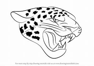 Step By Step How To Draw Jacksonville Jaguars Logo