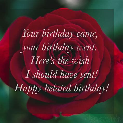 happy belated birthday wishes  friends  family