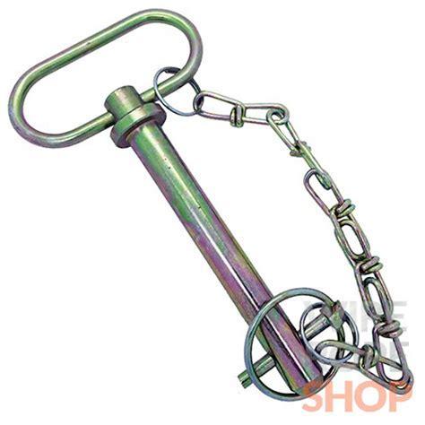 cotter pin, pin and chain, cotter pin and chain tow bar
