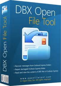 open file tool presents  ultimate dbx opener created