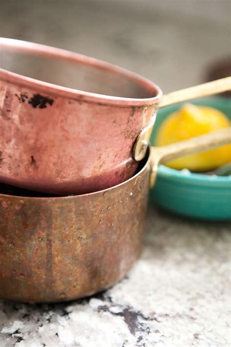 clean copper pots pans kitchn