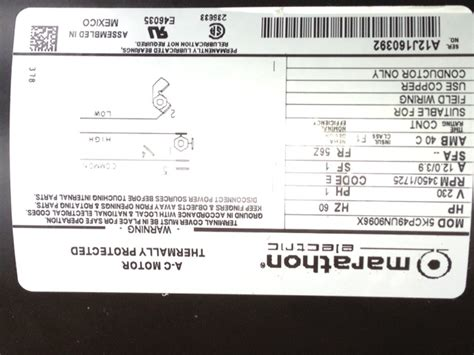 Marathon 2hp Electric Motor Wiring Diagram by I Bought A 4 Hp Marathon Electric Pool With A High And