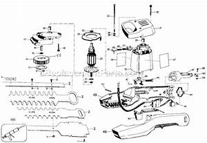 Black And Decker 8114 Parts List And Diagram