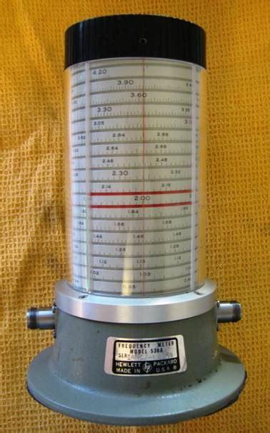Microwaves Frequency Meters