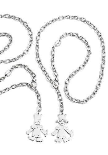re pomellato collane a catena con ciondoli snodati in argento re e