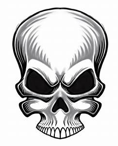 Pictures Of Evil Skulls - ClipArt Best