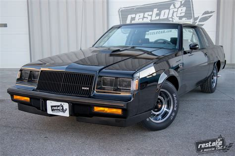 Buick Grand National 1987 by 1987 Buick Grand National Restore A Car Llc