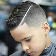 Boy Hair Lines Haircuts with Parts