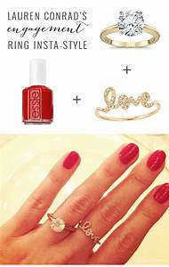 24 best celebrity engagement rings images on pinterest With lauren conrad wedding ring