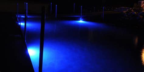 underwater dock lights dock lights 2 12 led heads 36 watts each w 60 watt