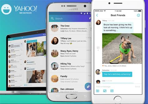 yahoo messenger for iphone how to the yahoo messenger app on an iphone