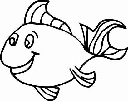 Fish Coloring Pages Preschool Kindergarten Child