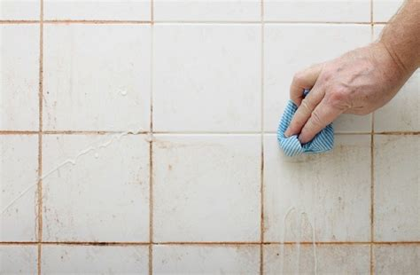 powerful ways  clean tiles grout naturally