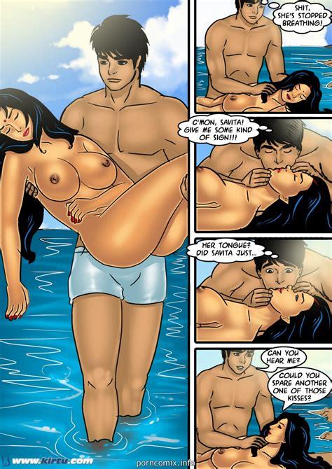 Savita Bhabhi Sex On The Beach • Porn Comics One