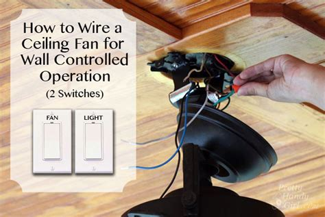 how do you wire a light switch how to install a ceiling fan pretty handy