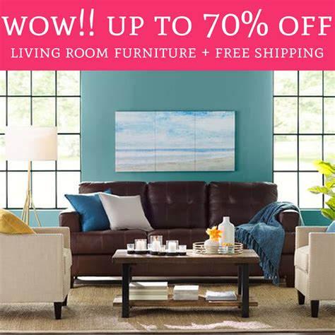Up To 70 Off Living Room Furniture Free Shipping Deal