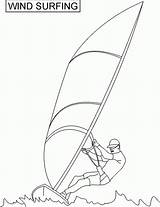 Coloring Pages Surfer Surf Surfing Printable Coloringhome Printables sketch template