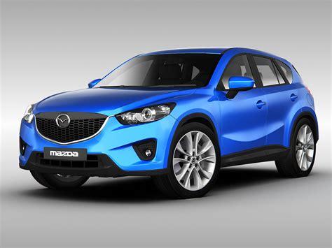 mazda vehicle mazda cx5 2013 3d models cgtrader com