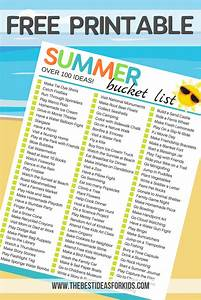 100+ Fun & Simple Ideas for a Summer Bucket List for Kids