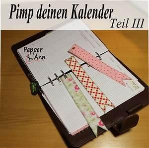 Kalender Selber Basteln Ideen : pimp deinen kalender teil iii lesezeichen zum einheften handmade kultur ~ Orissabook.com Haus und Dekorationen