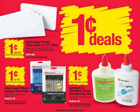 Office Depot Coupons For Technology by Office Depot Back To School 7 19 7 25