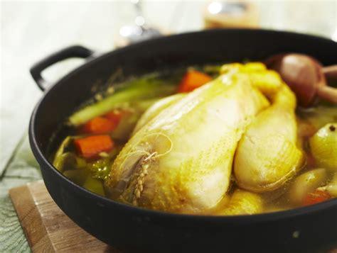 la poule au pot recette poule au pot farcie maggi