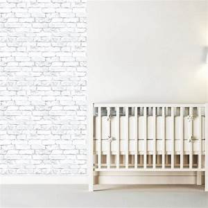 white bricks wallpaper decal self adhesive brick With brick wall decal