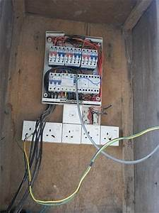 Electrical Installation Wiring Pictures  Temporary Socket