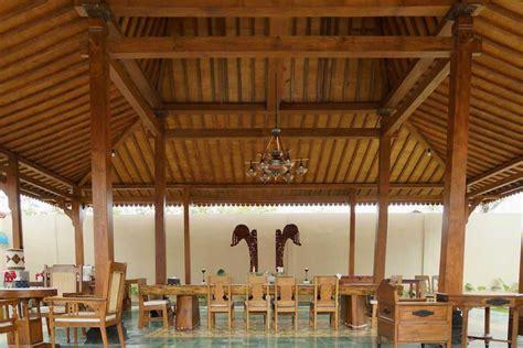 desain interior rumah tradisional  eksotis  menawan