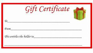 Christmas printable gift certificates search results calendar 2015 for Printable christmas gift certificates
