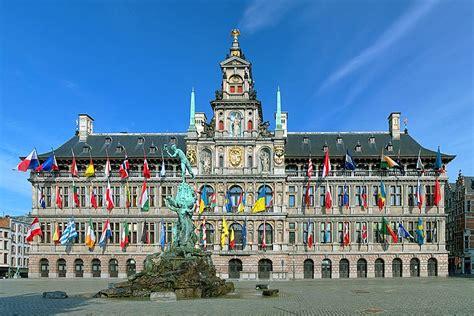 جولة مدينة انتويرب البلجيكية