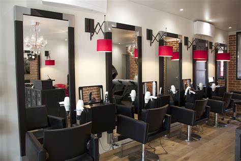 am 233 nagement d un salon de coiffure style industriel