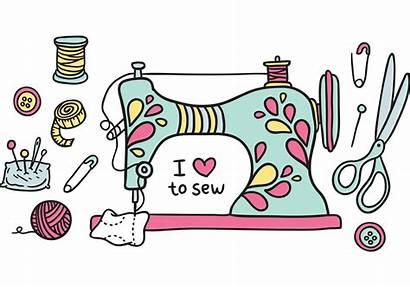 Vector Sewing Machine Vecteezy Costura Graphics