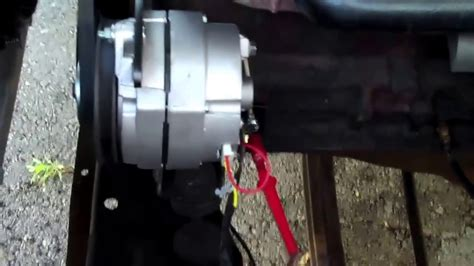 generator  alternator coversion youtube