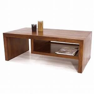Table Bois Exotique : table basse l 39 esprit ethnique d coration zen pour le salon ~ Farleysfitness.com Idées de Décoration