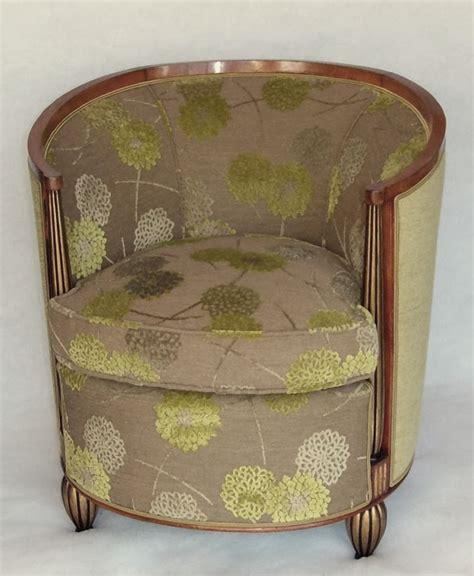 les tissus d ameublement pour tapisser les fauteuils annes 30 et style dco vendus par la